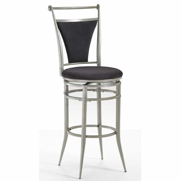 Cierra Pewter Bar Stool
