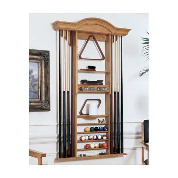 Florence Pool Table Accessory Rack By American Heritage