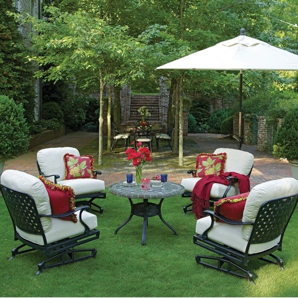 Provance Cast Aluminum Deep Seating Patio Furniture by