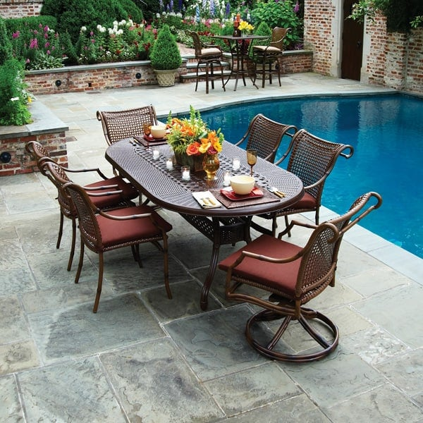 The Ultimate In Luxury Woven Patio Furniture ...