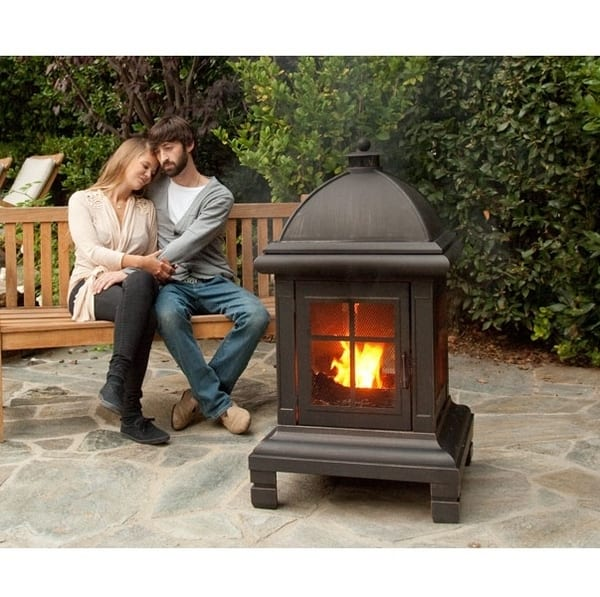 Pagoda Wood Burning Fire Pit