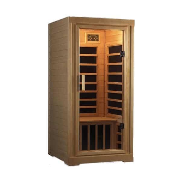 far infrared carbon flex 1 person sauna. Black Bedroom Furniture Sets. Home Design Ideas