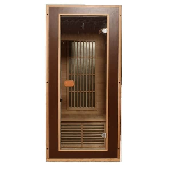 infrared sauna 1 person sauna. Black Bedroom Furniture Sets. Home Design Ideas