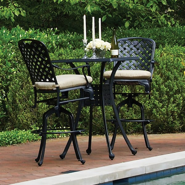 30 awesome bar height patio furniture patio furniture ideas for Outdoor bar furniture