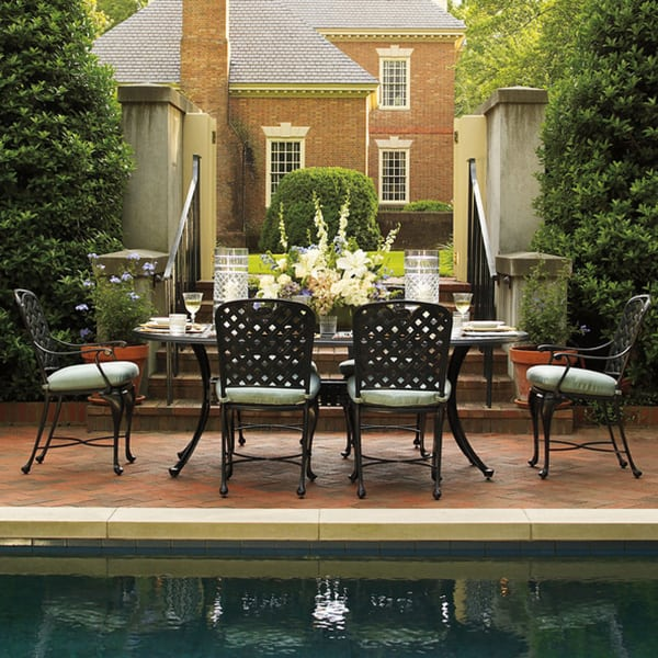 Relax In Style On Your Patio With The Provance Dining Collection By Summer Classics