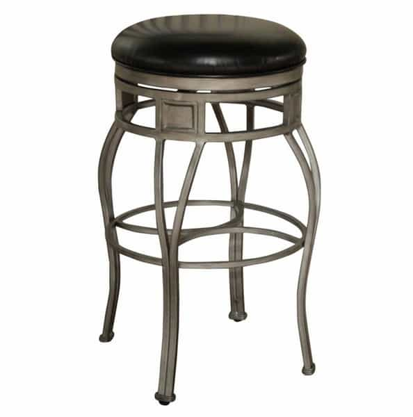Capri Backless - Black Bar Stool by American Heritage