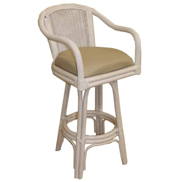 Key Largo White Bar Stool By Pelican Reef Bar Stools