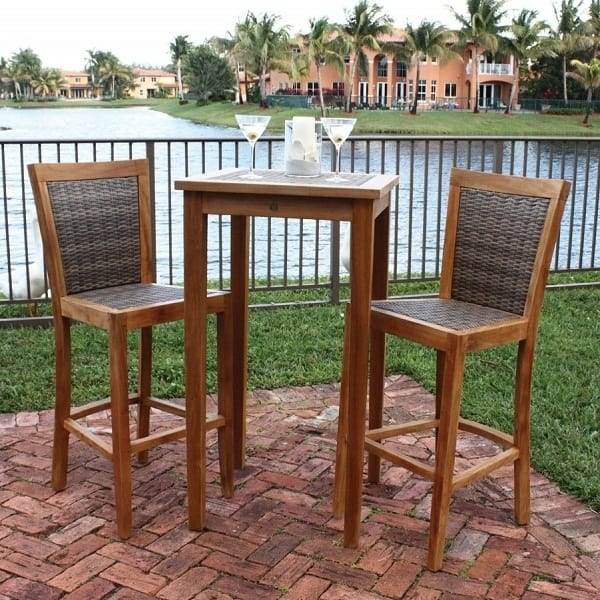 leeward islands bar height collection by panama jack outdoor : bar height patio chair