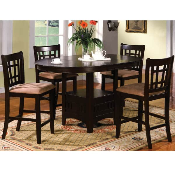 5 Piece Counter Height Dining Set By Family Leisure