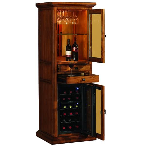 Meridian Oak By Tresanti Wine Amp Spirits Cabinets