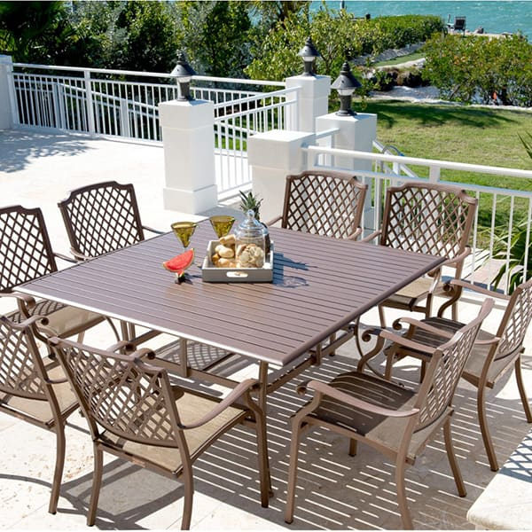 Island Breeze Dining 9 Piece Set