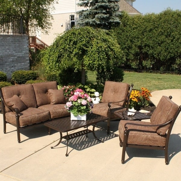 5 Piece Southwind Deep Seating Patio Set 1699 By