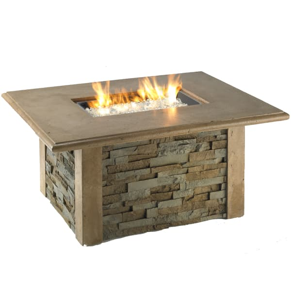 Sierra Fire Pit Table - Rectangle
