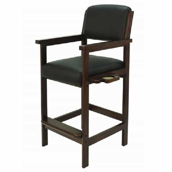 R A M Gameroom Spectator Chair English Tudor Finish