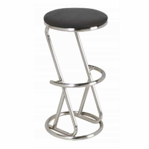 Backless Bar Stool Stainless Steel
