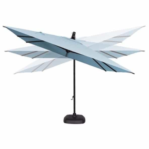 10 39 Akz Square Cantilever Umbrella