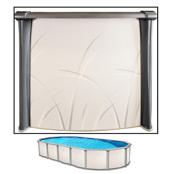 Seaside ii 18 39 x 33 39 x 52 oval swimming pool - Above ground oval swimming pools for sale ...