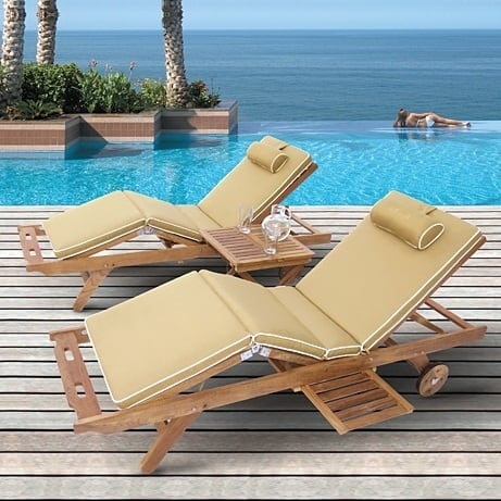 Sun Bed Chaise Lounge