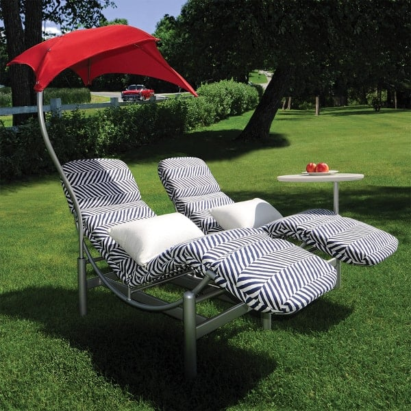 Cirque Double Chaise Lounge By Homecrest