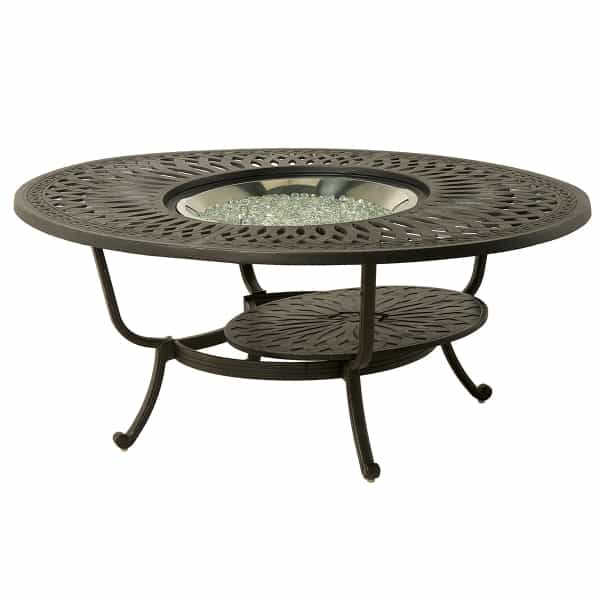 "Berkshire 48"" Round Gas Fire Pit Table"