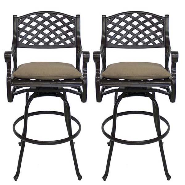 Palizzi Bar Height Stools Set Of Two
