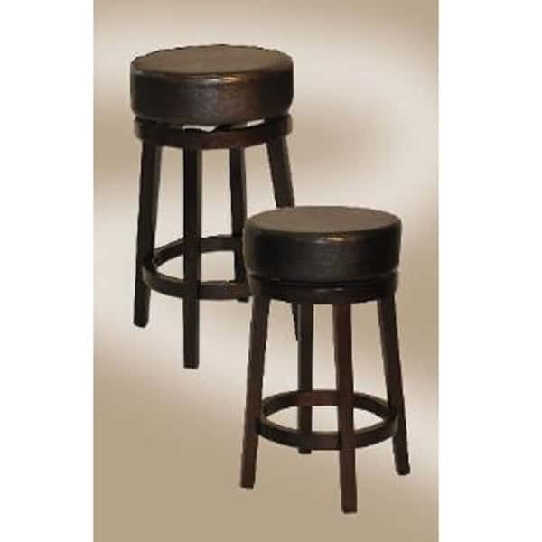 Espresso Backless Bar Stool By East Coast Innovations