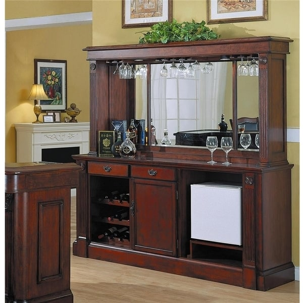 Monticello Back Bar Amp Hutch