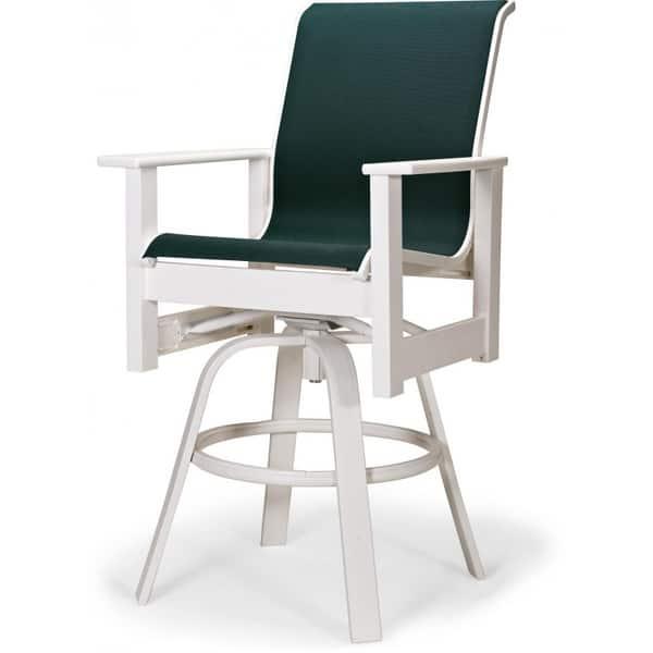 Leeward Mgp Sling Bar Height Swivel Chair