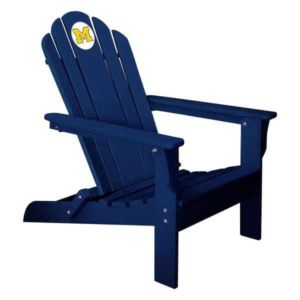 Delightful Adirondack Chair   University Of Michigan By Imperial International