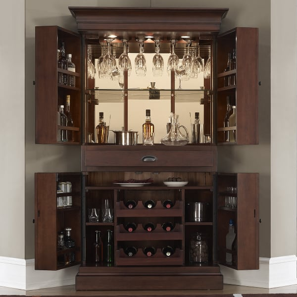 Francesca wine bar cabinet - Bar cabinets for home ...