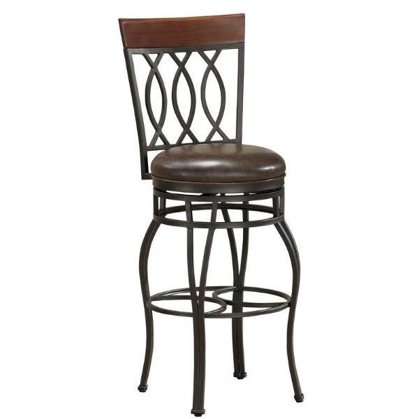 Amazing Bella Bourbon Extra Tall Bar Stool Uwap Interior Chair Design Uwaporg