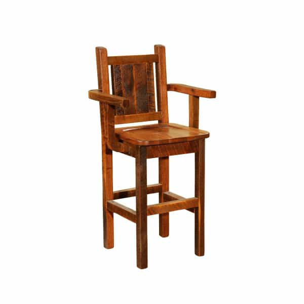 Barnwood Counter Stool Arms : Bar Stools Barnwood Counter Stool Arms 5404e0a665291 from www.familyleisure.com size 600 x 600 jpeg 10kB