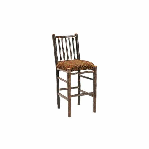 Hickory Upholstered Bar Stool