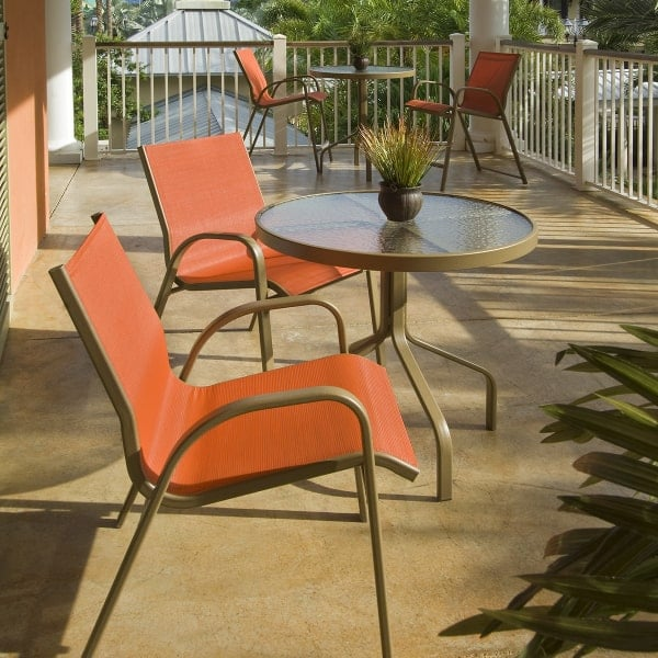Seabreeze Sling Dining, Windward Patio Furniture