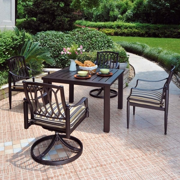 Lancaster dining for Alumont outdoor furniture