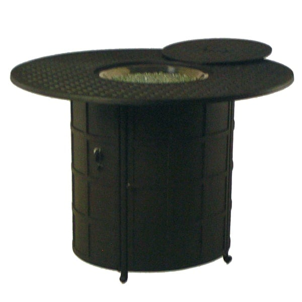 Newport Counter Height Fire Pit Table By Hanamint