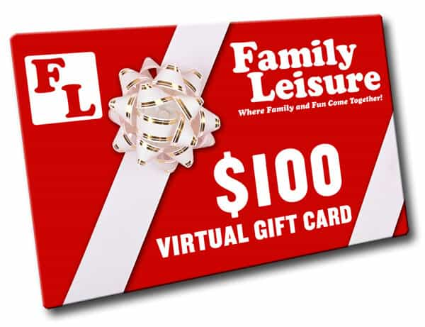 100 Gift Card By Family Leisure Gift Ideas