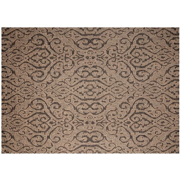Moroccan Outdoor Rug Chestnut