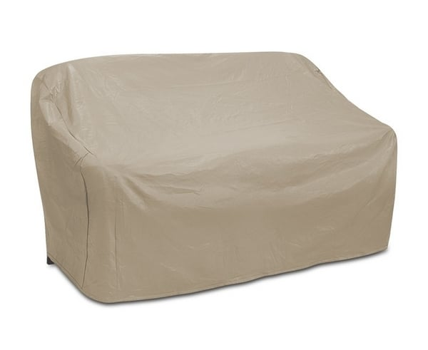 Two Seat Wicker Sofa Cover By