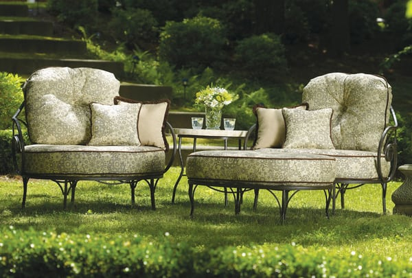 Captivating Relax In Style On Your Patio With The Geneva Collection By Meadowcraft ...