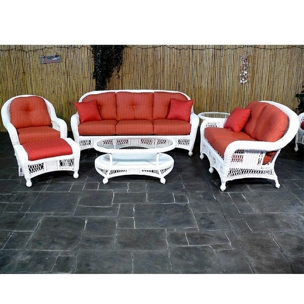 Relax In Style On Your Patio With The St. Lucia All Weather Wicker  Collection By ...