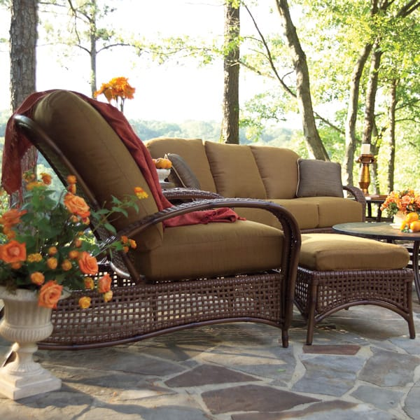 Charming Relax In Style On Your Patio With The Tuscany Deep Seat Collection By  Summer Classics ...