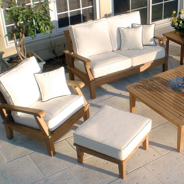 Miami Teak   White By Royal Teak Collection
