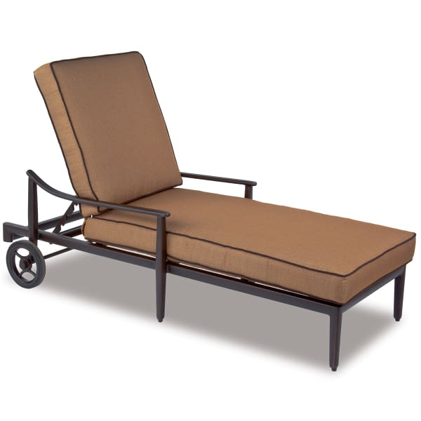 Sutton chaise lounge for Casual chaise lounge