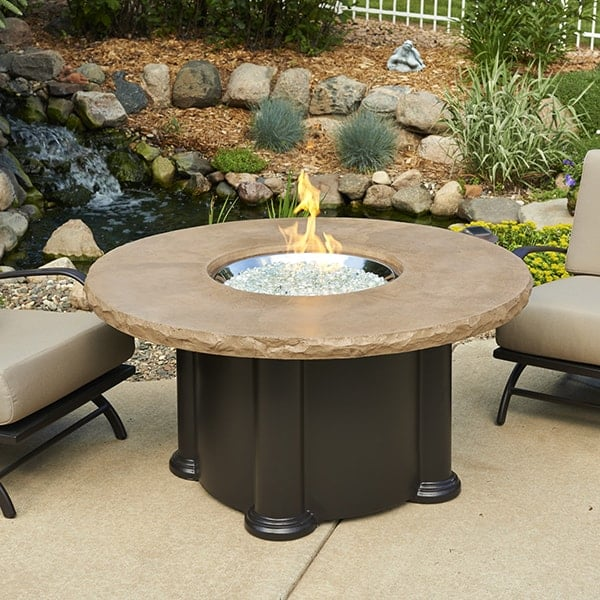 colonial fire pit table by outdoor greatroom