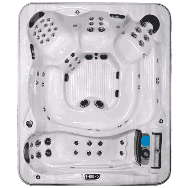 hydrotherapy hot tub - Large Rectangular Spa with Huge Seating Capacity