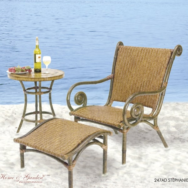 Stephanie outdoor wicker patio furniture Free Shipping