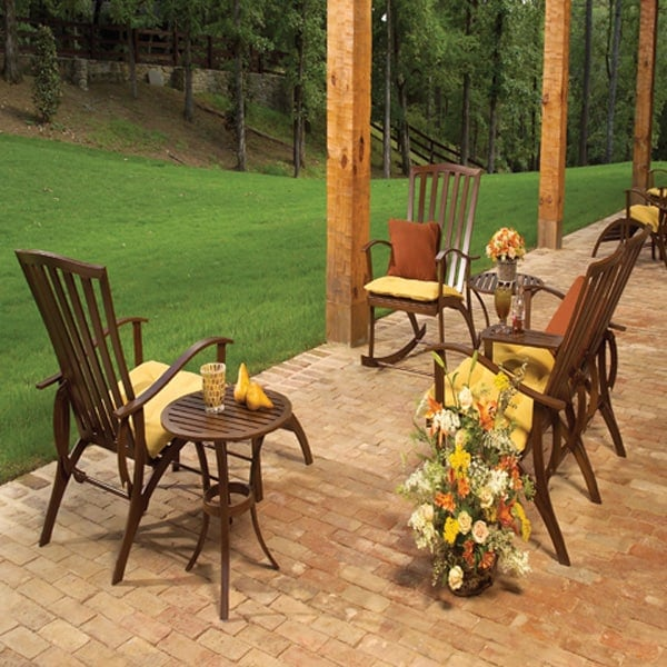 Summer Cottage Wrought Aluminum Deep Seating Patio Set By Summer Classics