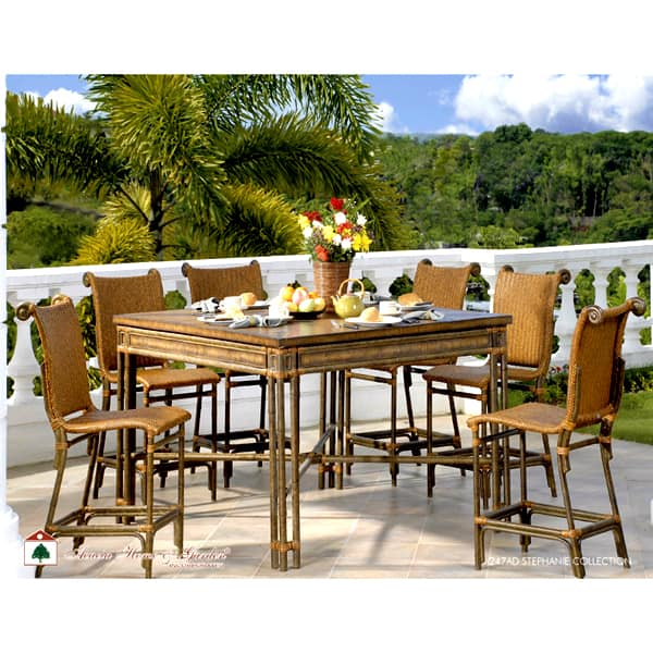 stephanie gathering height patio set by acacia free