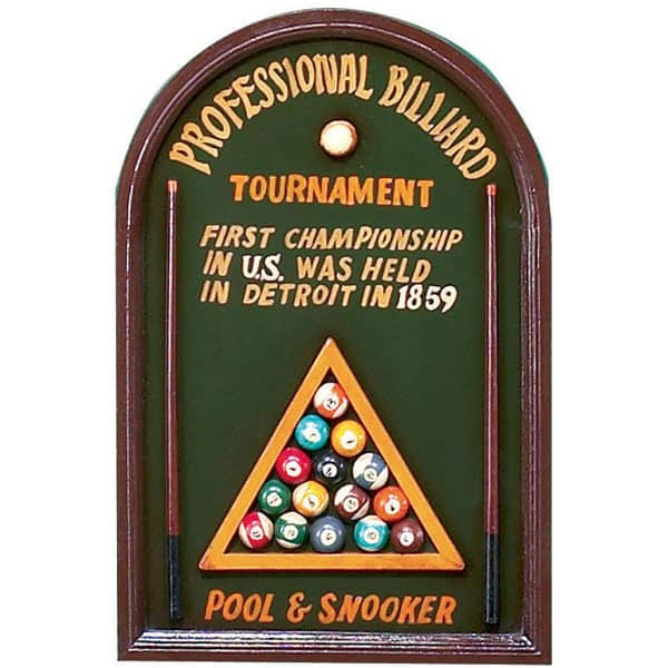 Professional Billiard Wall Art By R.A.M. Game Room